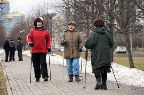 прогулка на улице